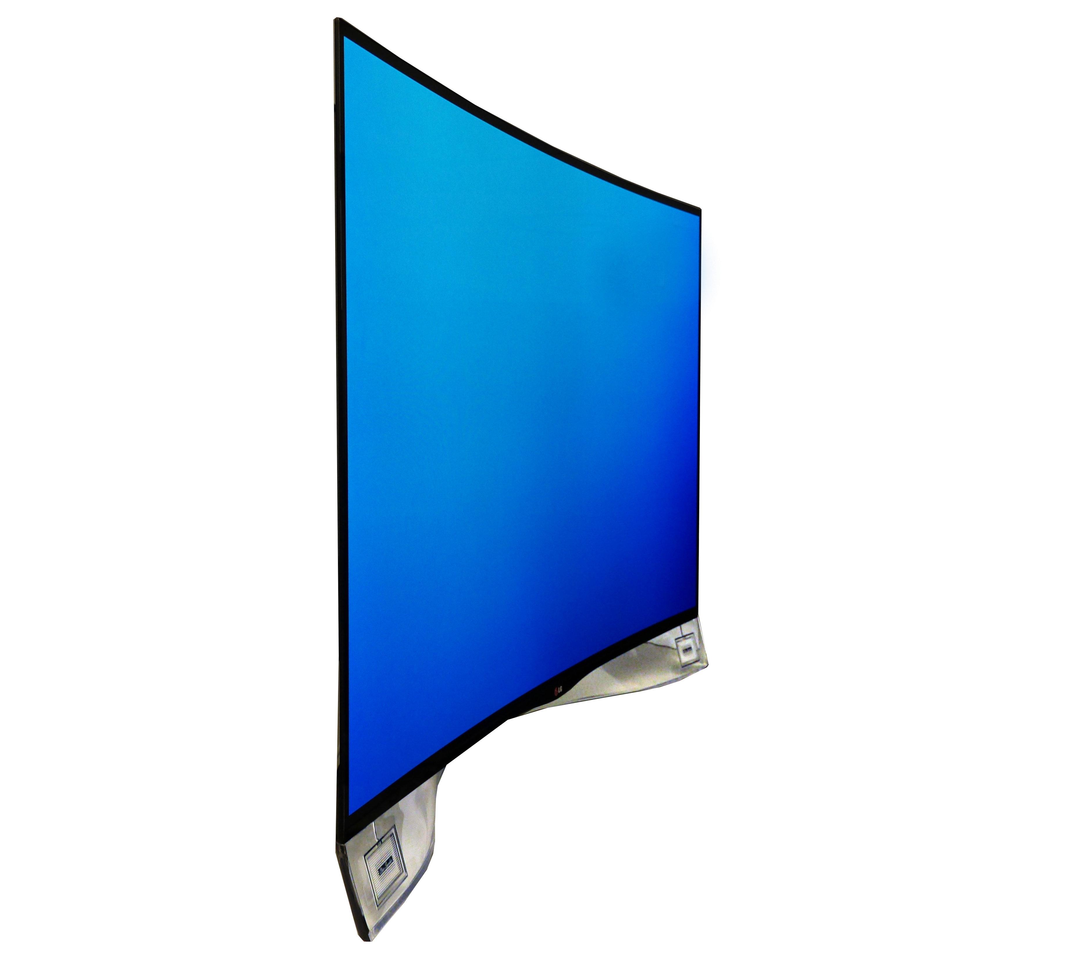 55EA9809 CURVED TV | 'S WERELDS 1ste | LG …