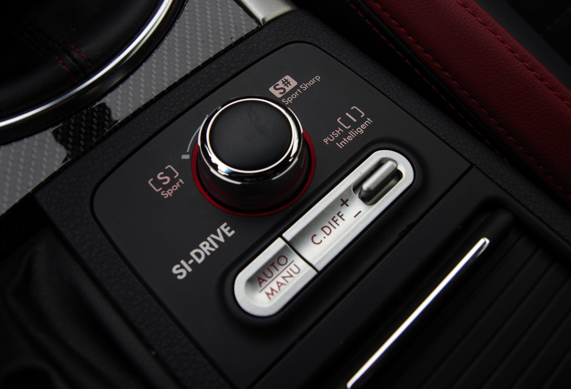 2015 Subaru WRX STI SI Drive C Diff