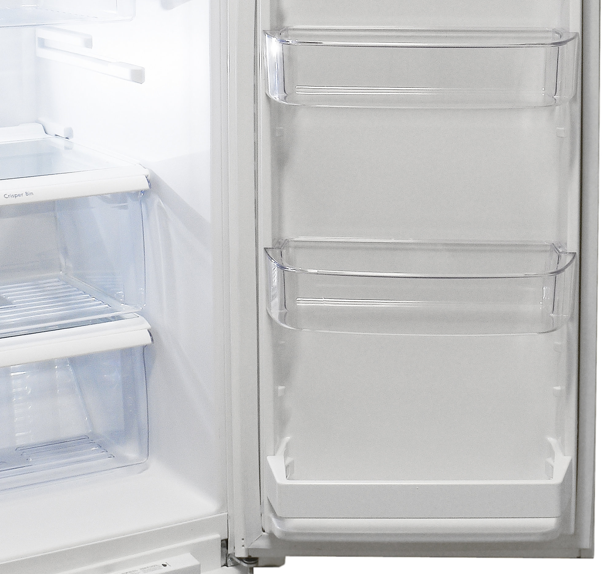 kenmore 50023. a fixed shelf at the bottom of kenmore 51122\u0027s fridge door balances out dairy 50023