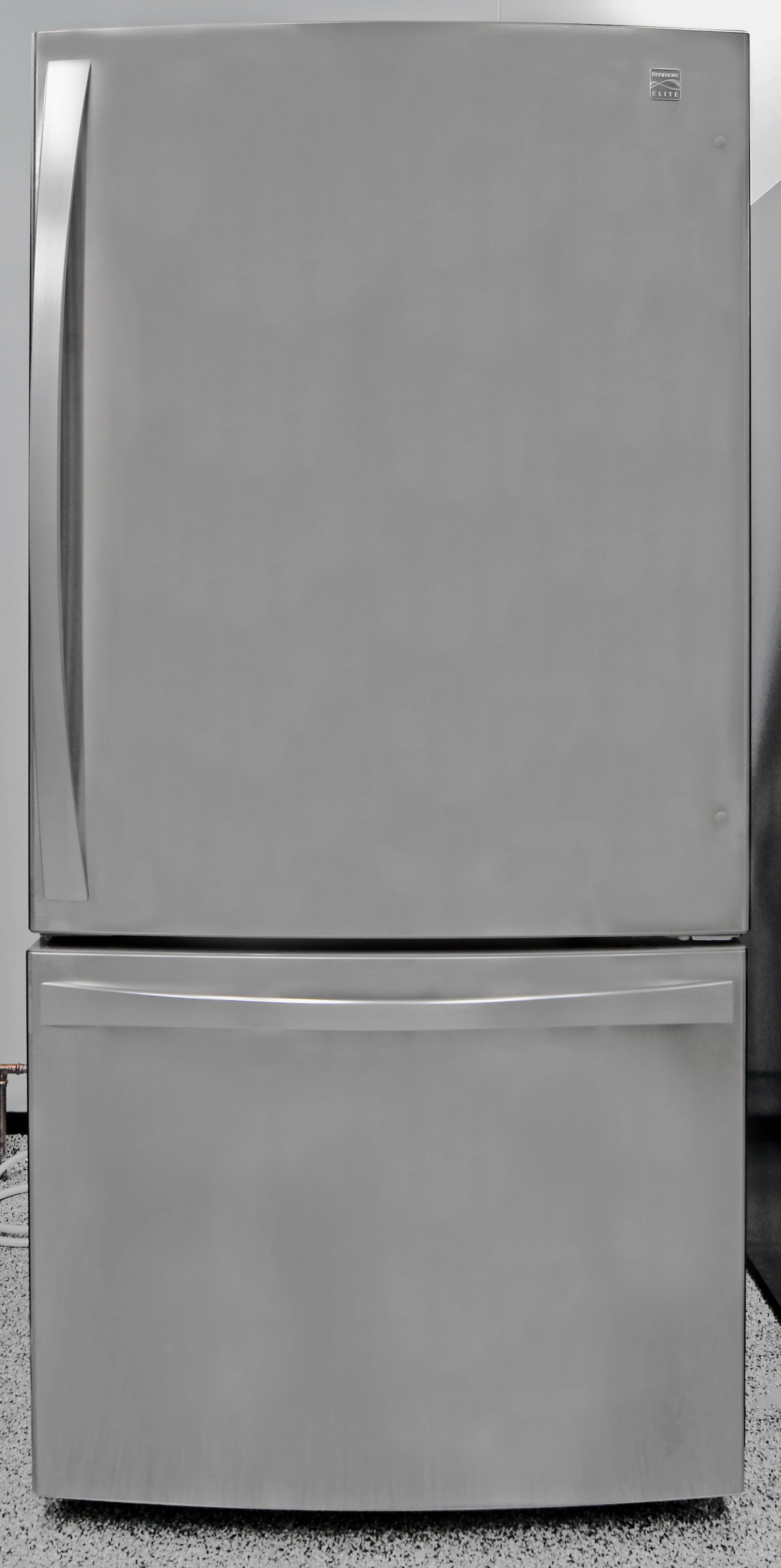 This bottom freezer is a very sizable—and expensive—product.