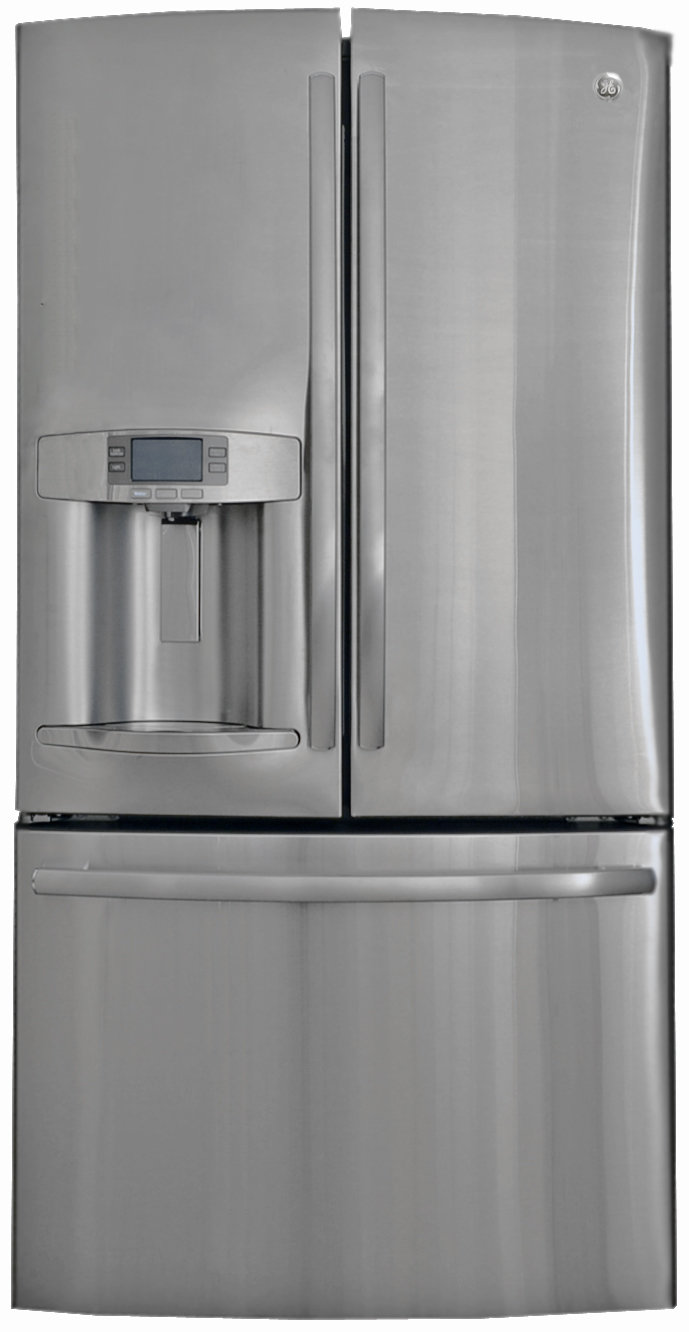 The stainless GE Profile PFE28RSHSS French door is an overall excellent fridge.