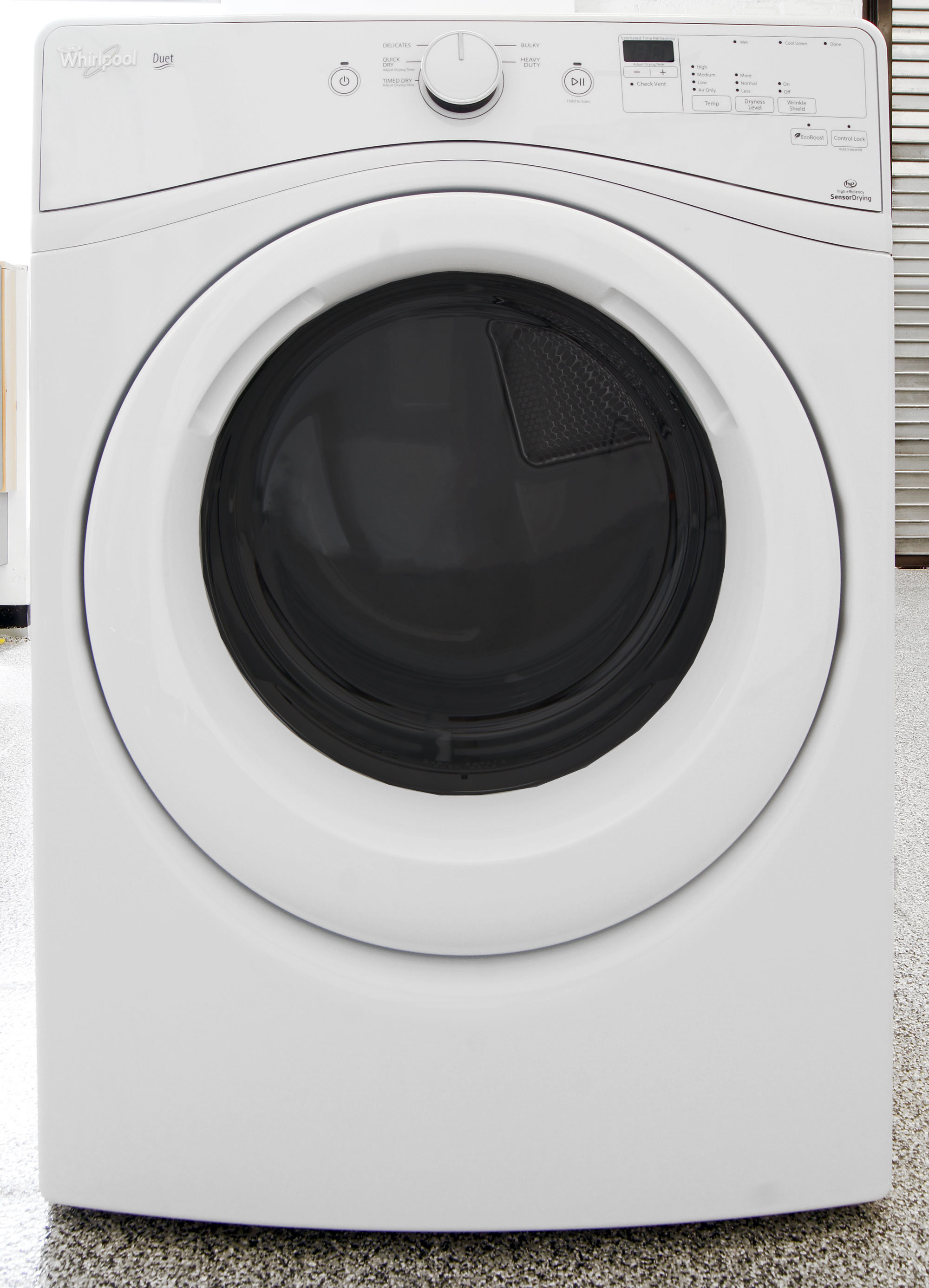 how to clean lint from whirlpool duet dryer