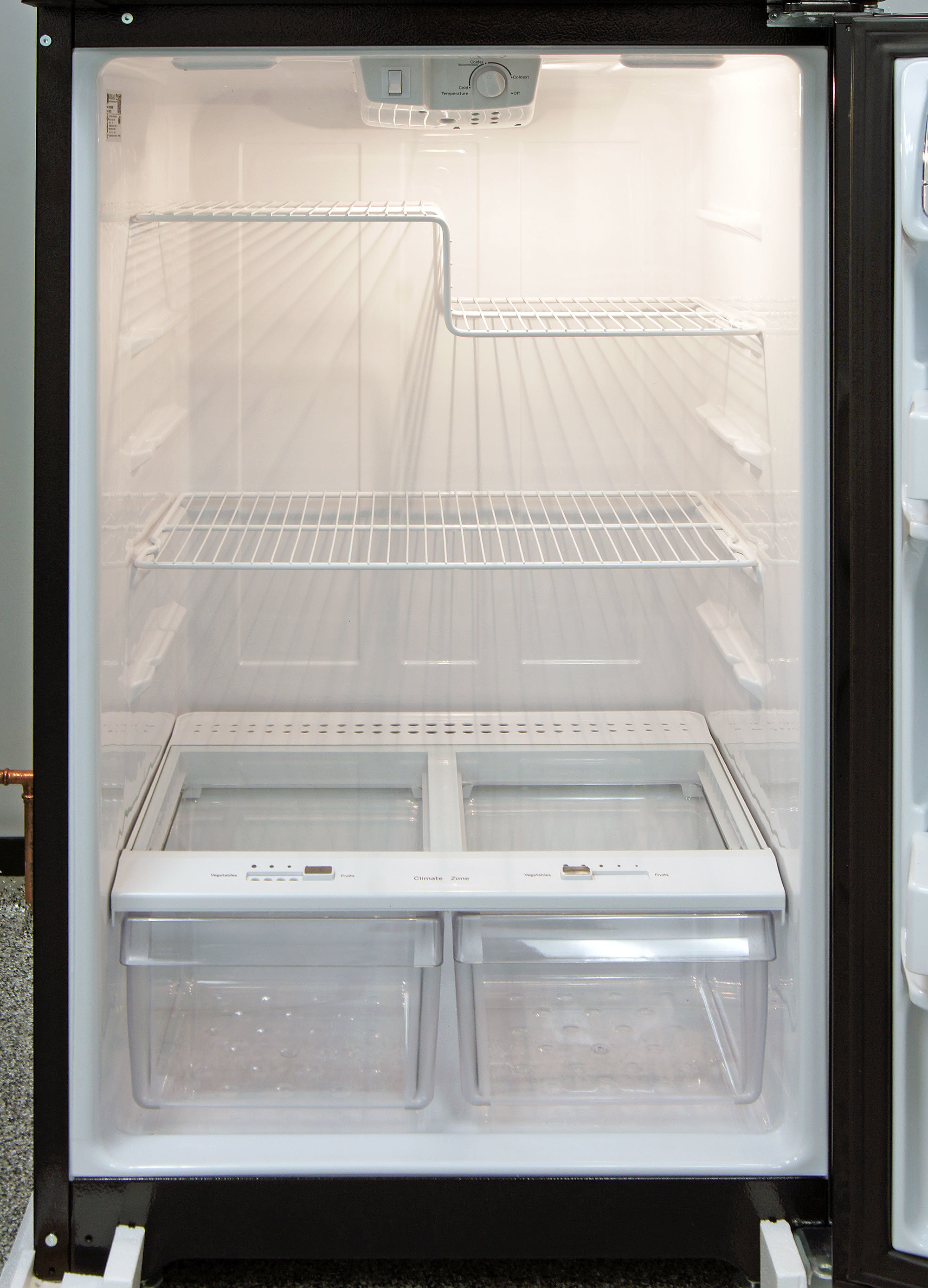 GE GIE16DGHBB Refrigerator Review - Reviewed.com Refrigerators