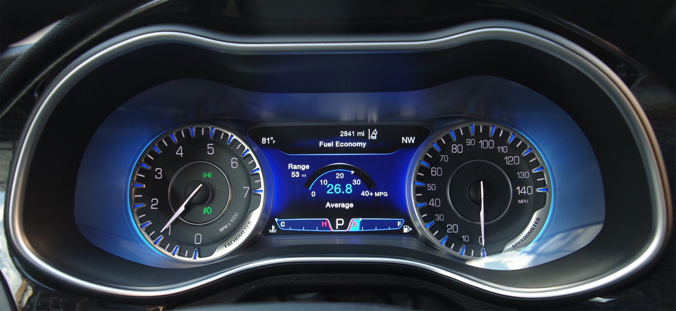 Chrysler 200 fuel economy
