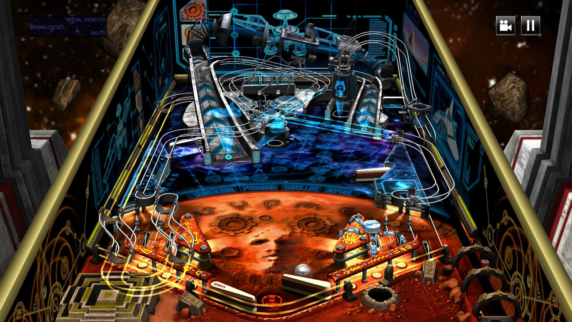A screenshot of the Pinball FX 2 app.
