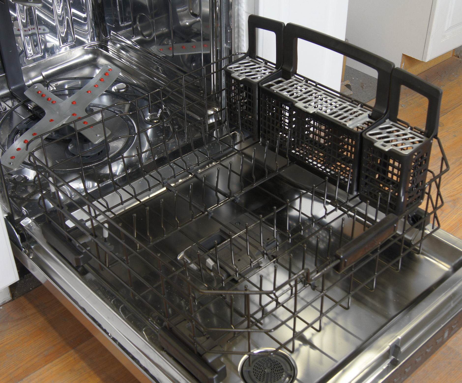 GE Cafe CDT725SSFSS bottom rack
