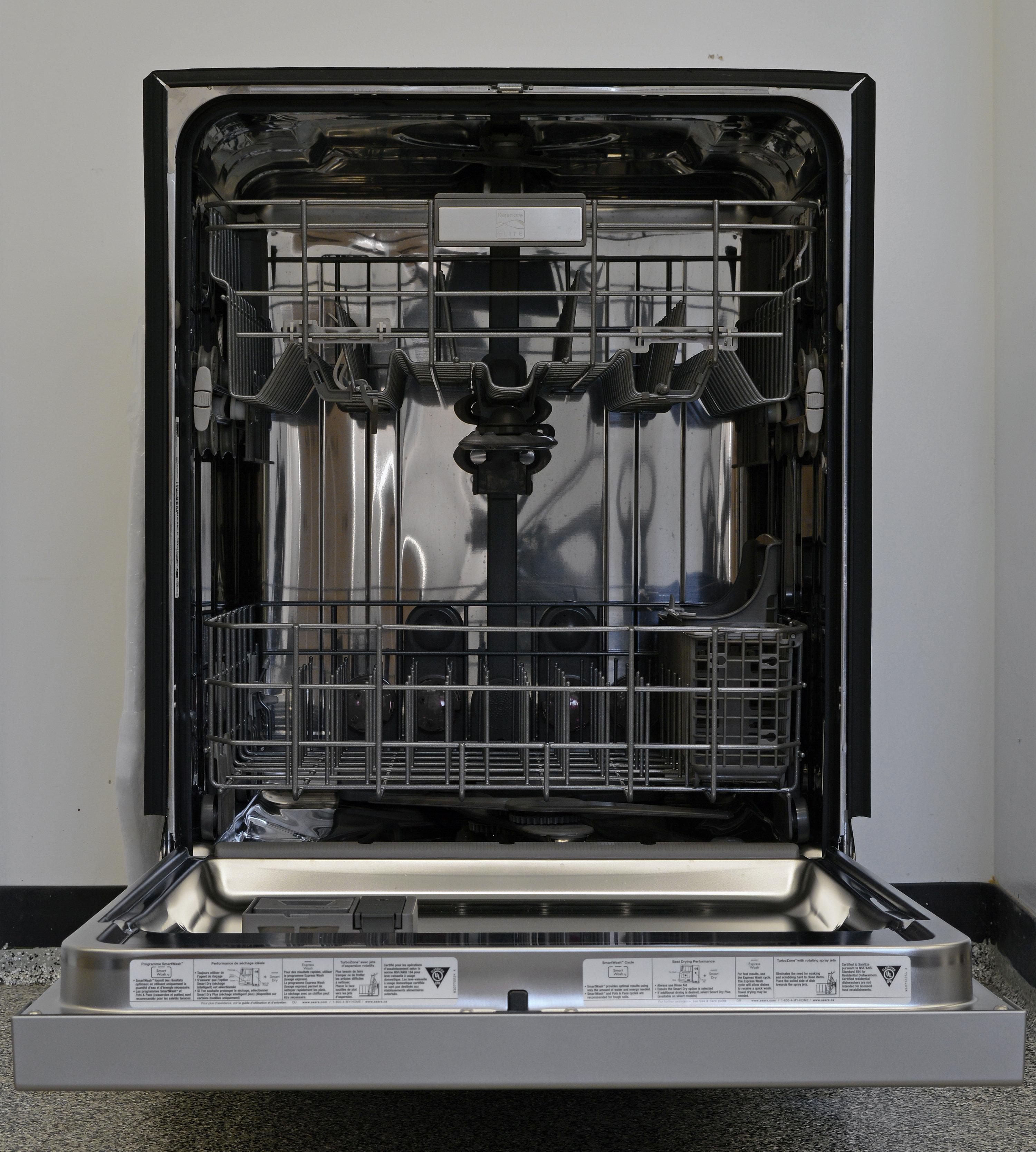 Kenmore Elite 14743 Dishwasher Review Reviewed Com