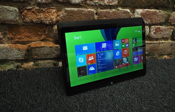 The Sony Vaio Flip 11a as a tablet