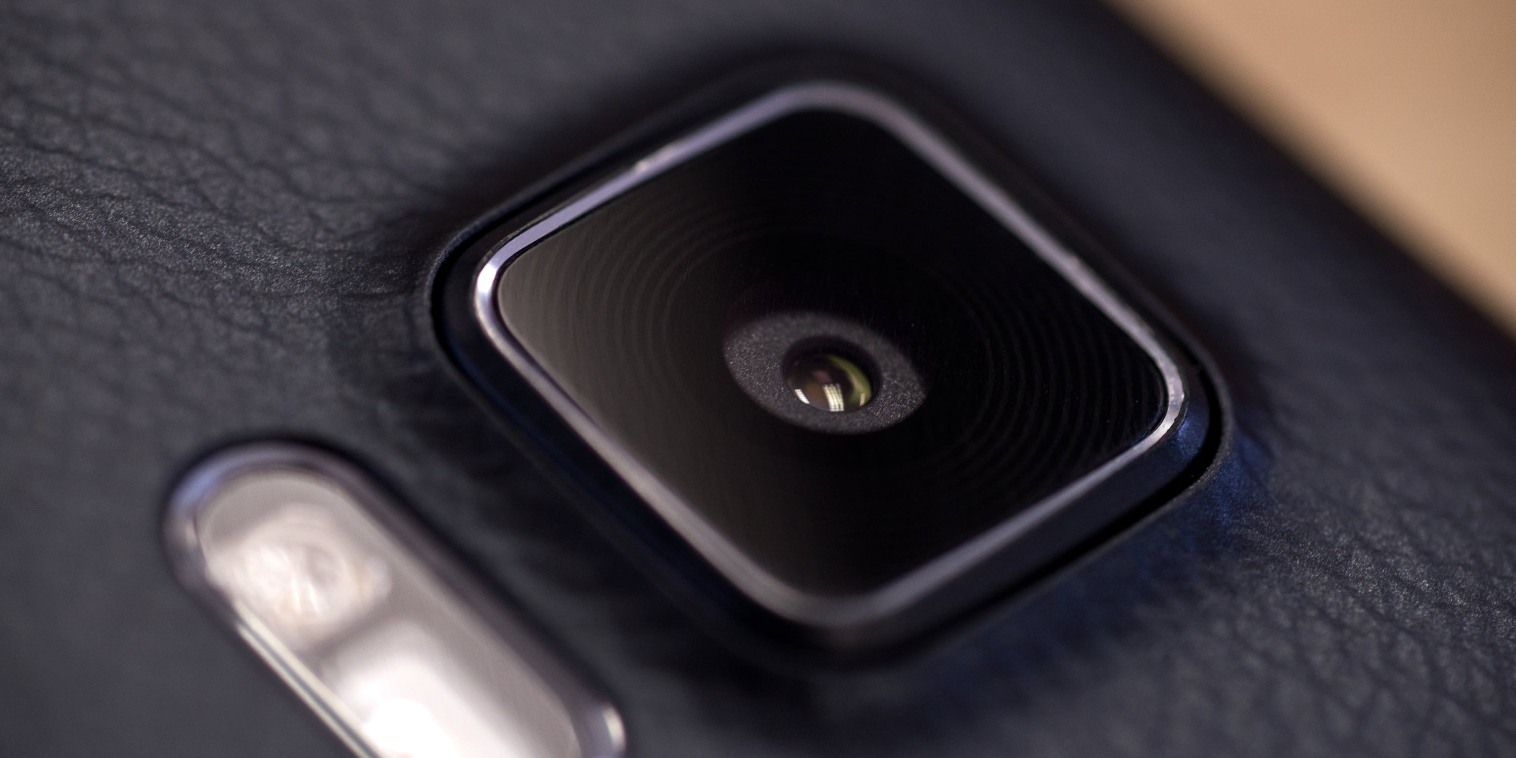 A photograph of the Samsung Galaxy Note 4's camera.