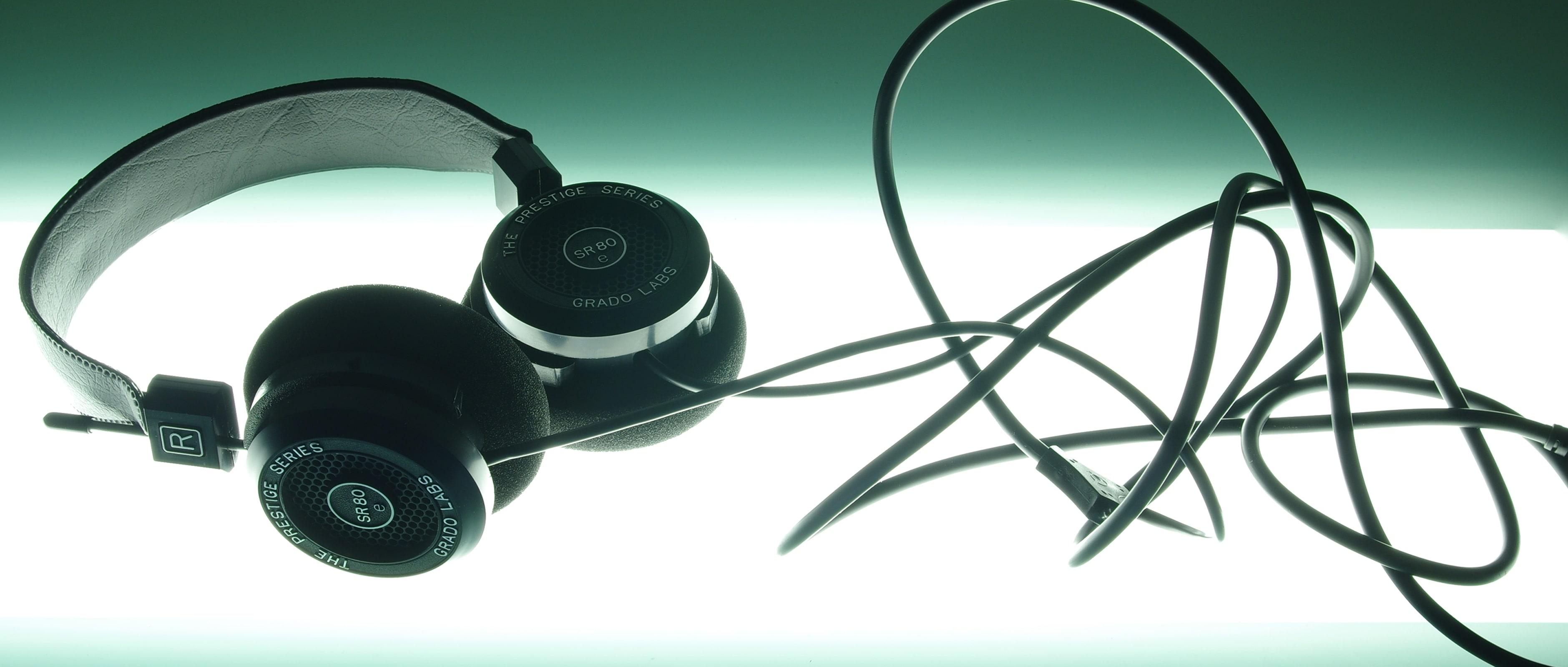 Grado's prestige S80e open-backed headphones