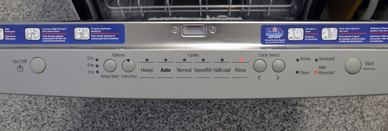 Bosch SHS5AV55UC control panel