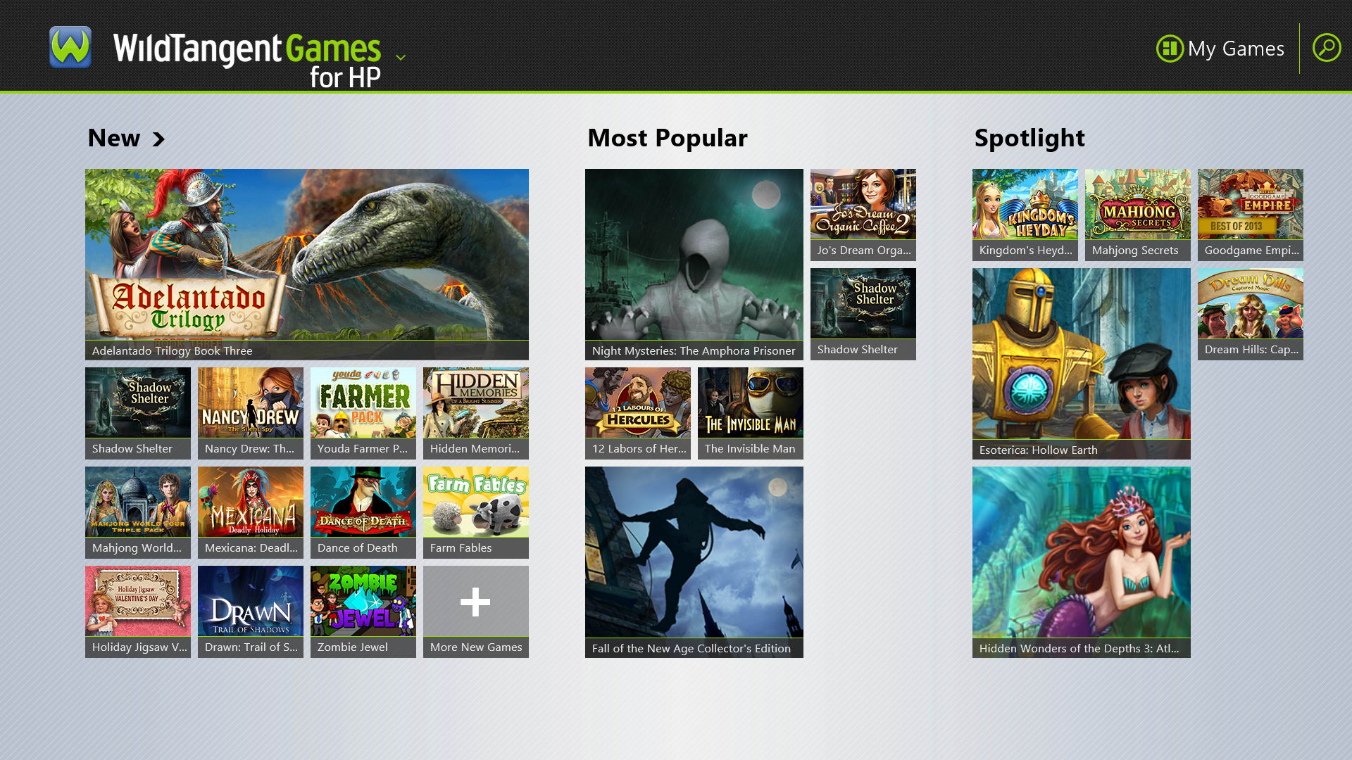 WildTangent is a portal to buy games, although you're better off downloading Steam.