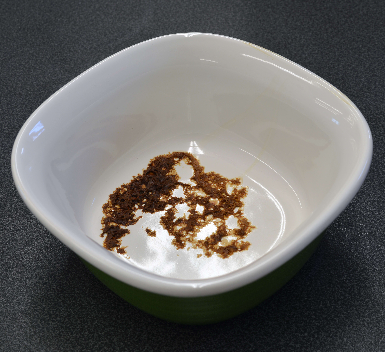 Maytag MDB8969SDM burnt cheese stain