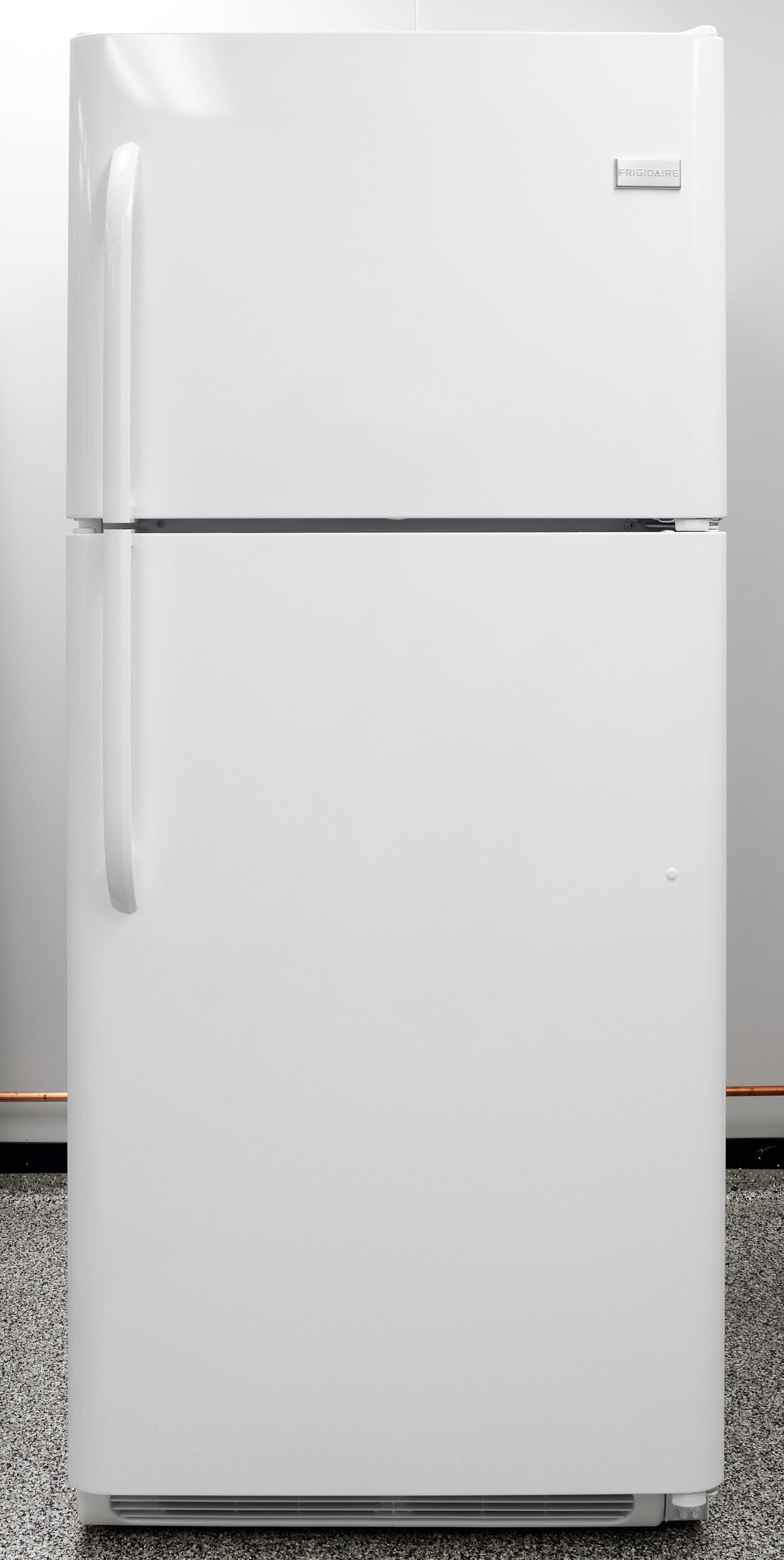 The Frigidaire FFHT2131QP's smooth white finish is also available in black, metal, or stainless.
