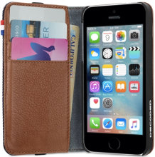 Apple iPhone SE Decoded Denim Wallet Case