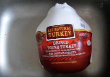 Turkey in Sink