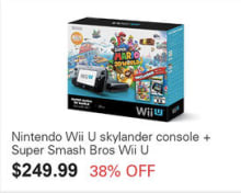 eBay Cyber Monday Wii U Bundle