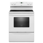 Amana aer5630baw 4 8 cu ft %20electric range with self cleaning oven white