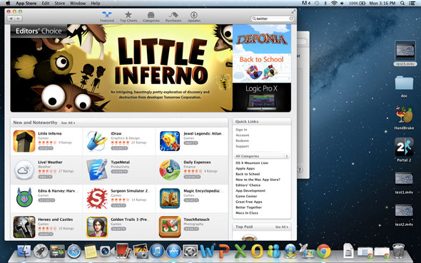 Apple's App Store offers a great selection of useful apps.