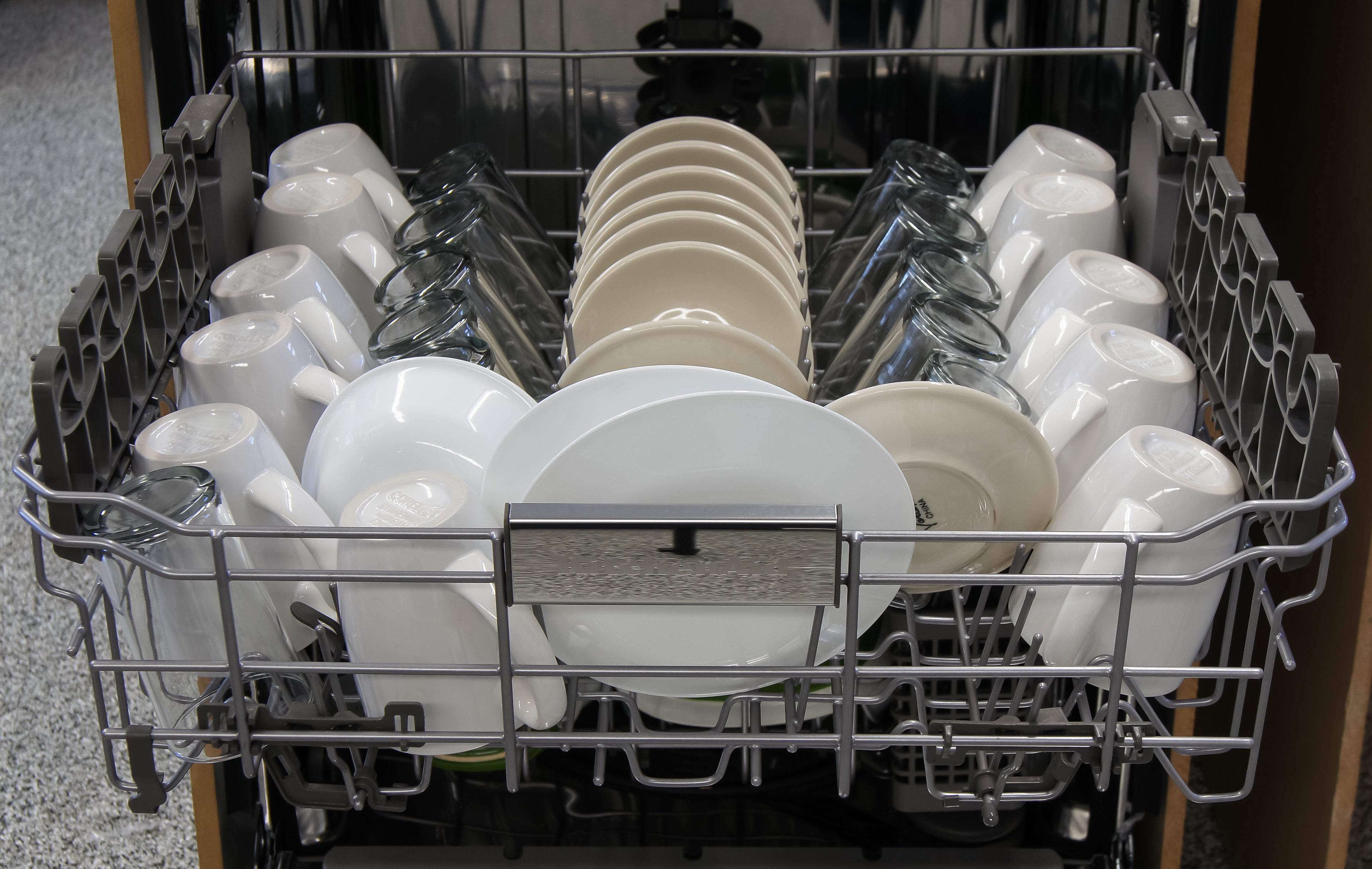 KitchenAid KDTM354DSS Top capacity