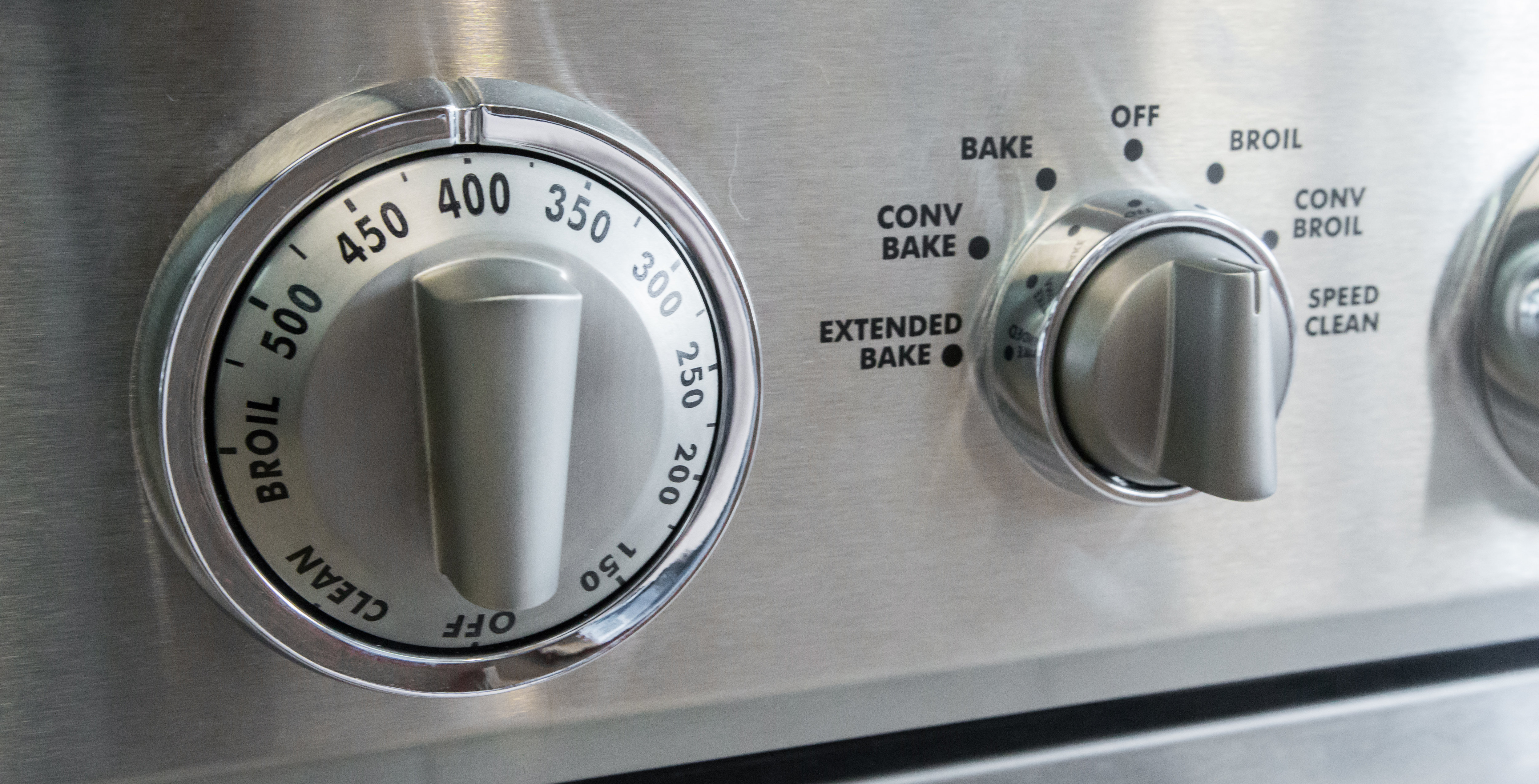 Oven control knobs