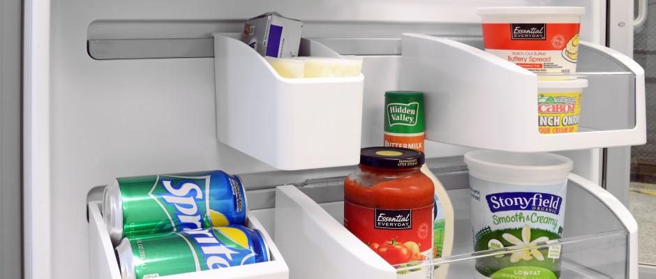 frigidaire top mount custom-flex door refrigerator