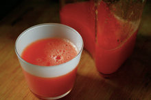 Carrot Grapefruit Juice