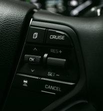 2016 Hyundai Sonata Plug-In Hybrid Steering Wheel Controls