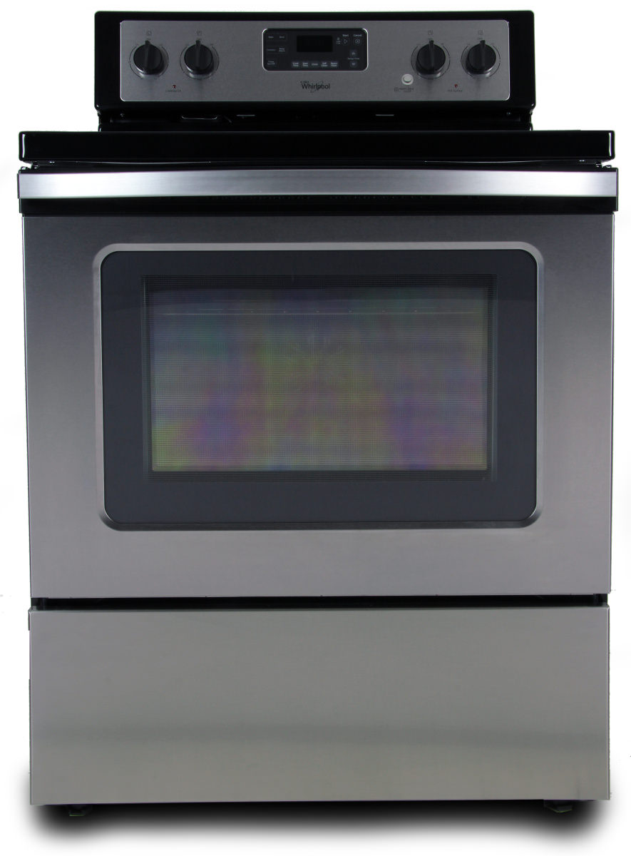 Whirlpool white ice electric range reviews - The Whirlpool Wfe530c0es Freestanding Electric Range