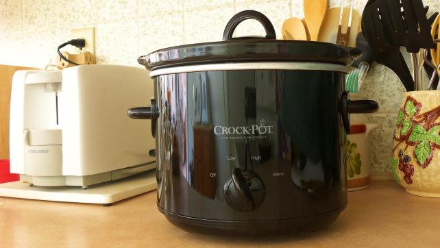 Crock Pot on a Counter