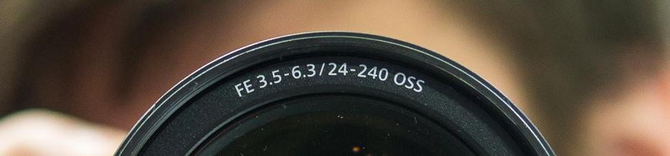 Sony Lens Detail