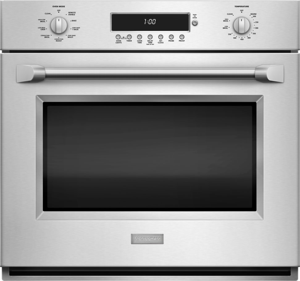 Monogram zet1phss electric single wall oven review for High end wall ovens