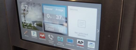 Samsung smart fridge full hero