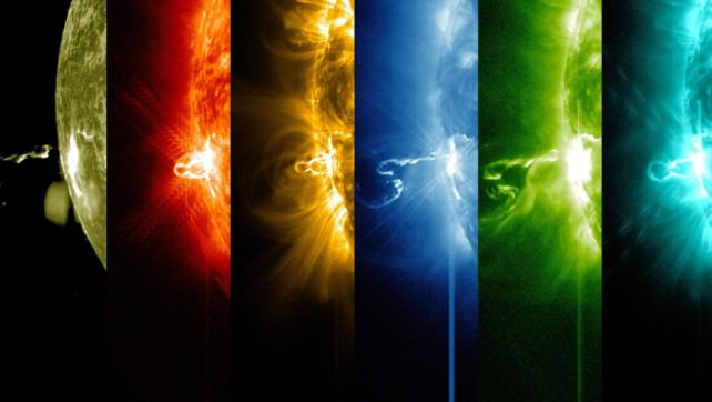 solar flare in different wavelengths.jpg
