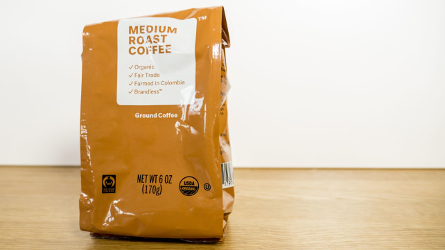 Brandless coffee