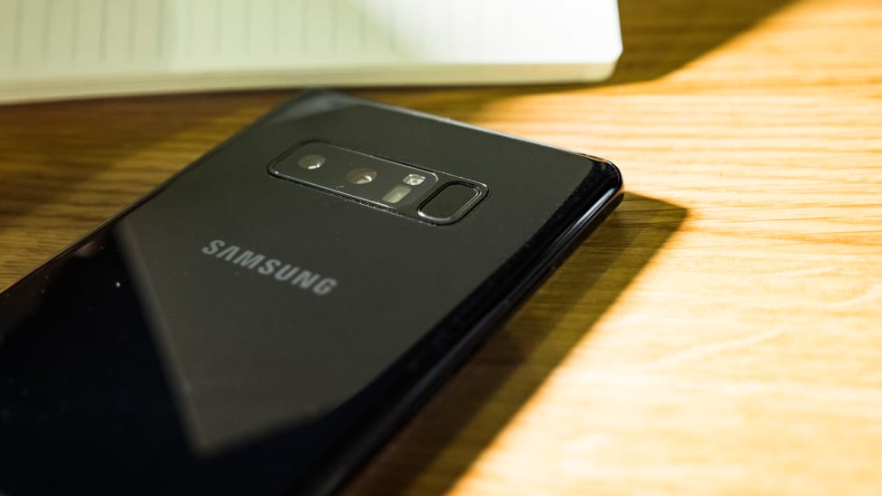 Galaxy Note 8 Fingerprint Scanner