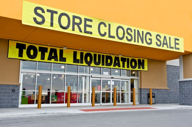 Major retailer going out of business