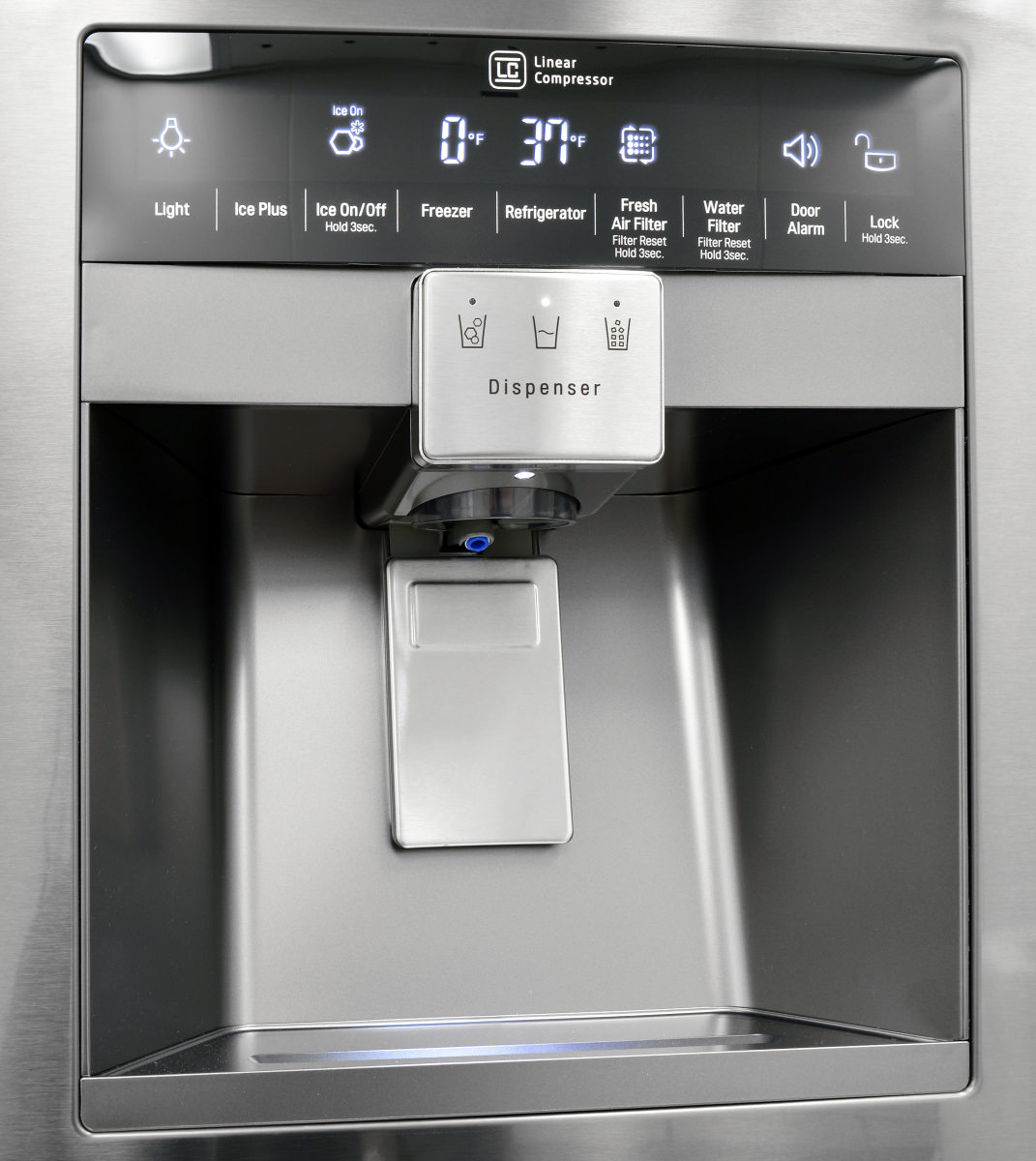 Names Of Kitchen Appliances Lg Lpxs30866d Black Stainless Diamond Collection Refrigerator