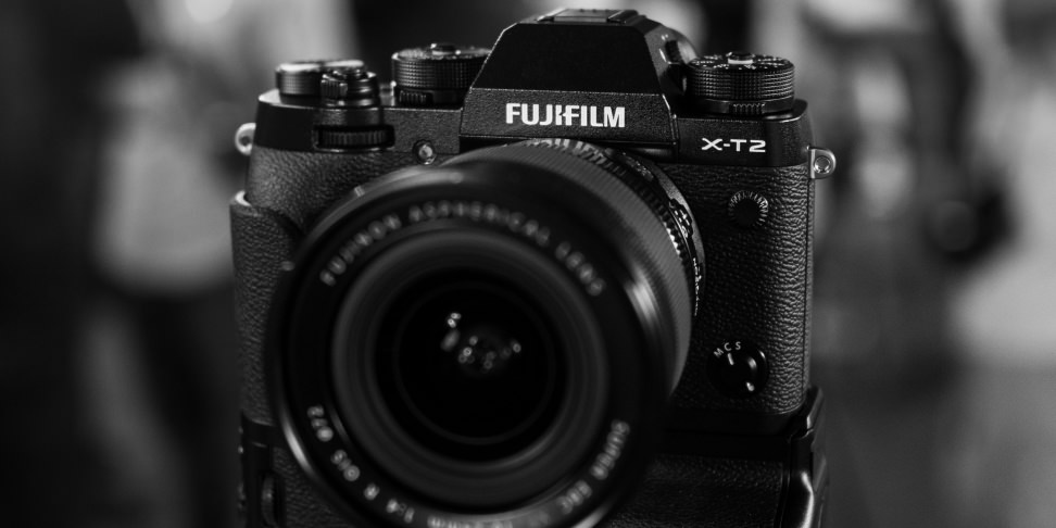 Fujifilm X-T2 monochrome hero