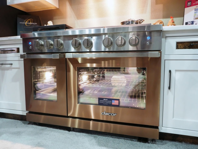 In bid for luxury kitchen market samsung buys dacor for Luxury oven