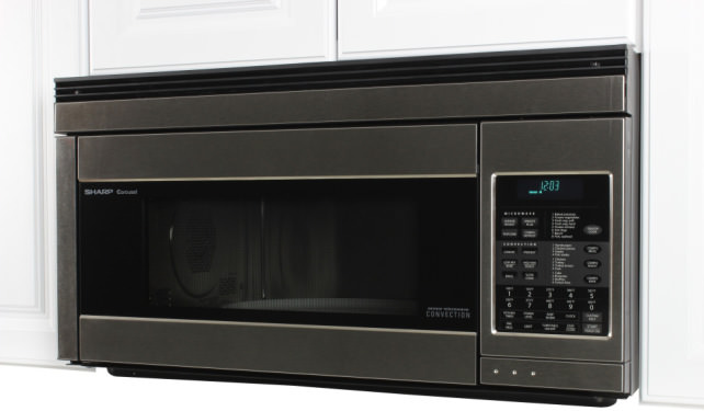 Stainless compact toaster oven steel
