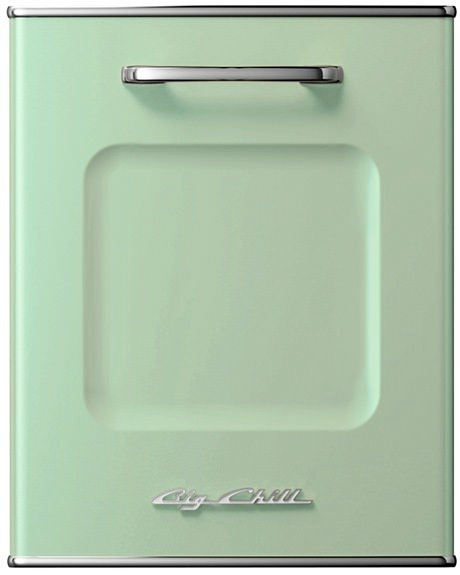 green dishwasher