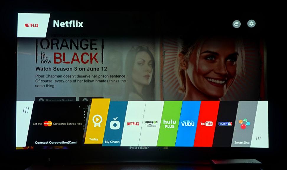 LG WebOS 2.0 Smart TV Interface