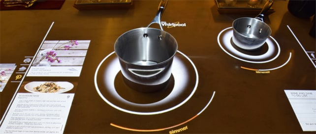 Interactive Cooktop