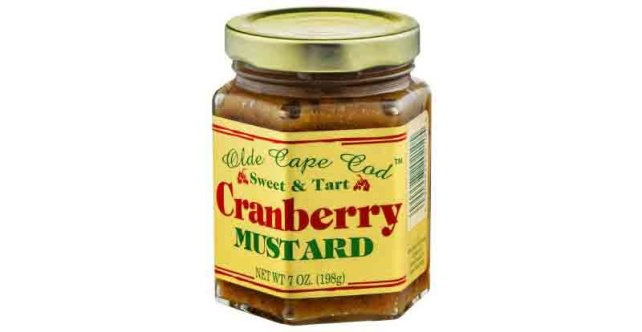 Old Cape Cod Cranberry Mustard