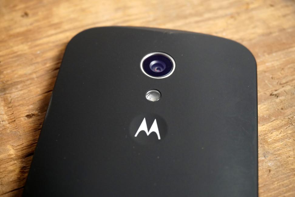 Motorola Moto G camera