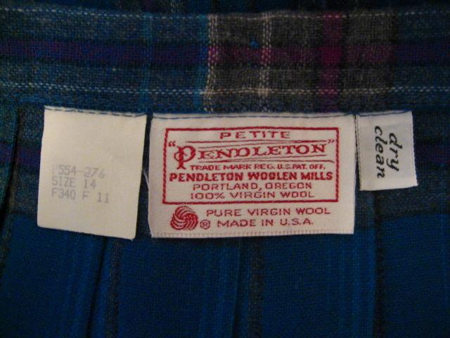 Wool Clothing Label