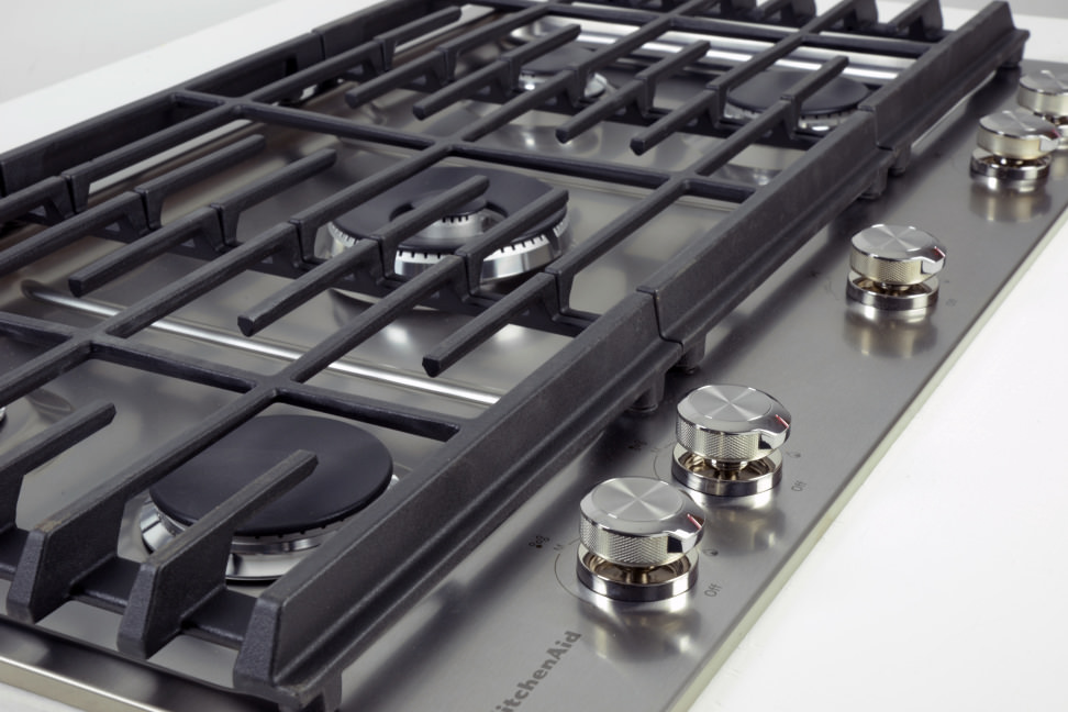 KitchenAid KCGS556ESS 36Inch Gas Cooktop Review Reviewed Ovens – Kitchenaid 36 Gas Range