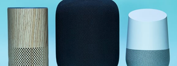 Big three smart speakers