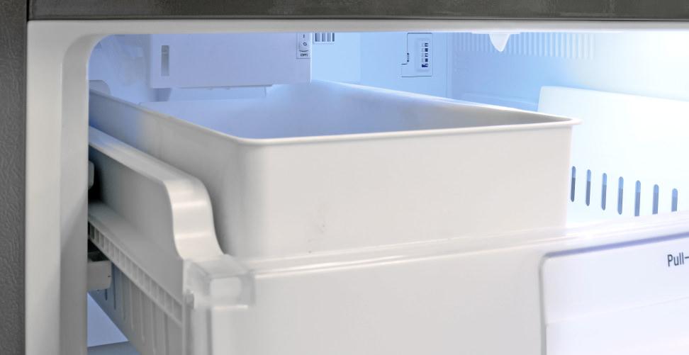 LG LDC24370ST Ice Maker